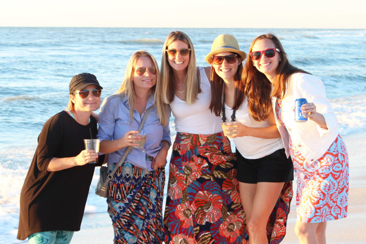 The Naples Grande is the perfect place for a girls getaway. Photo credit: Naples Grande beach attendant