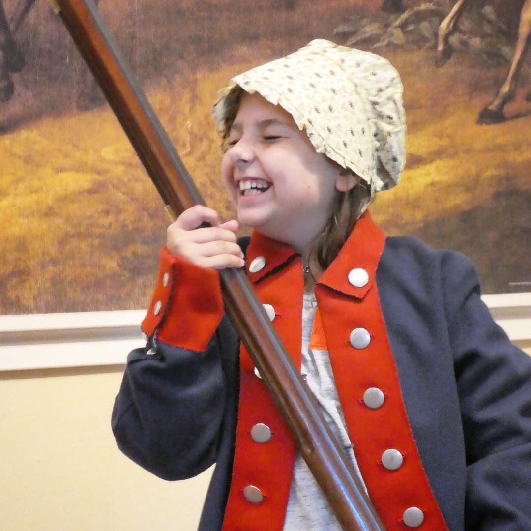 History is fun at the Yorktown Virginia American Revolution Museum.