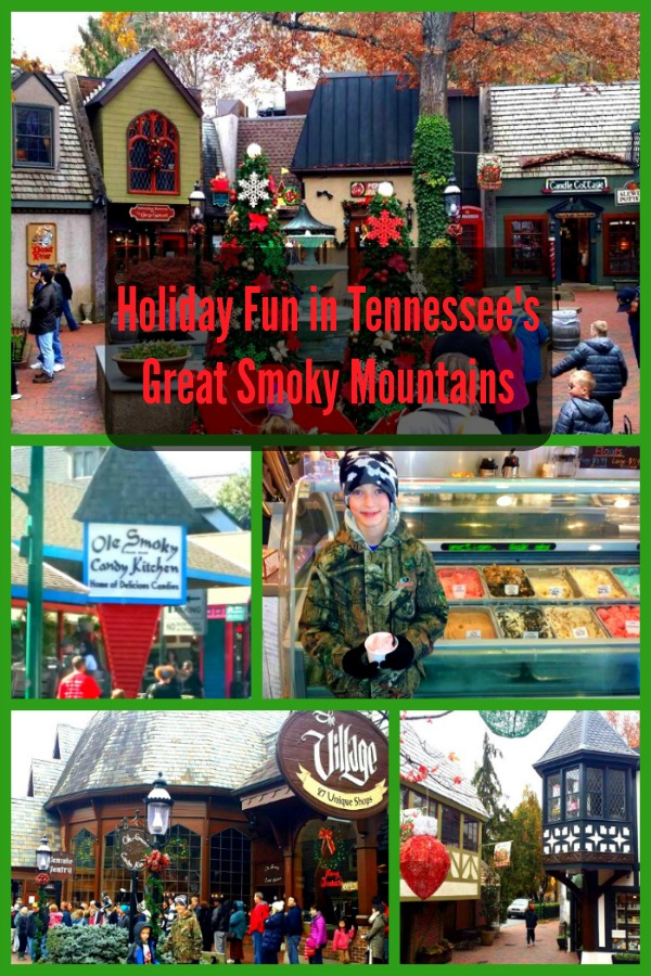 Holiday Shopping Downtown Gatlinburg