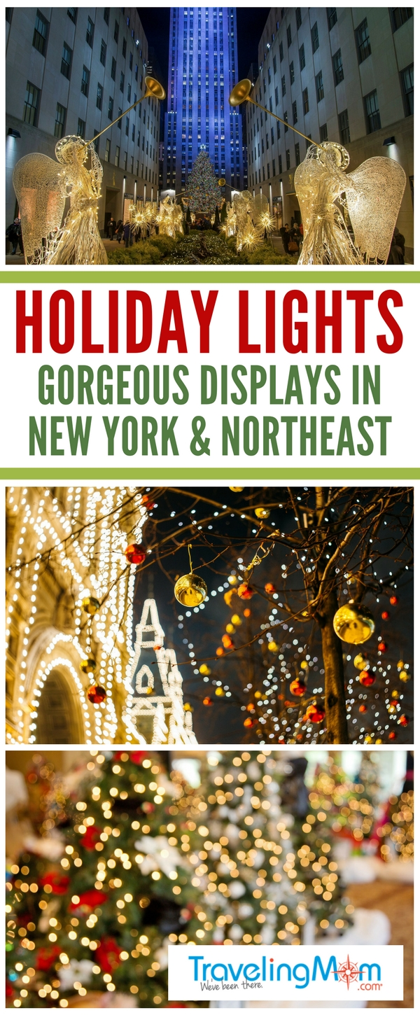 pin for Christmas light displays in the Northeast USA - TravelingMOm