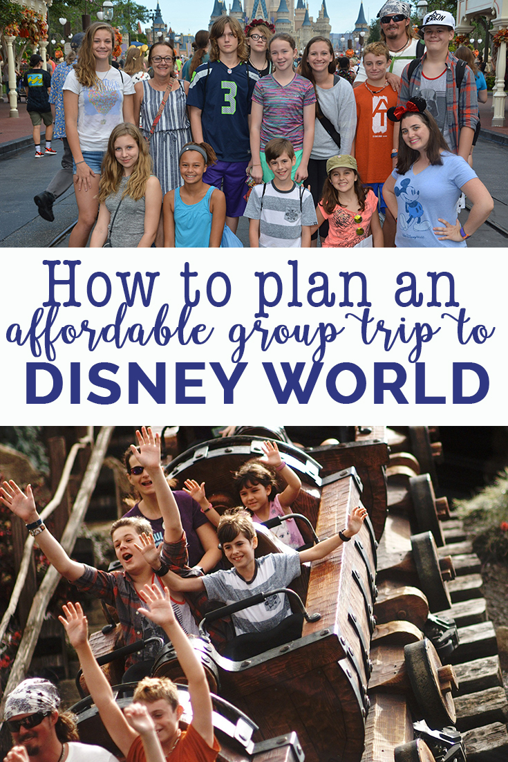 How to plan an affordable group trip to Disney World