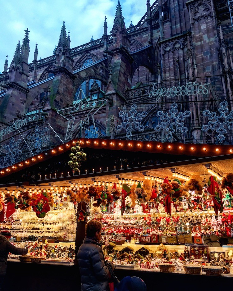 Christmas Markets are a tradition in the Alsace region of France