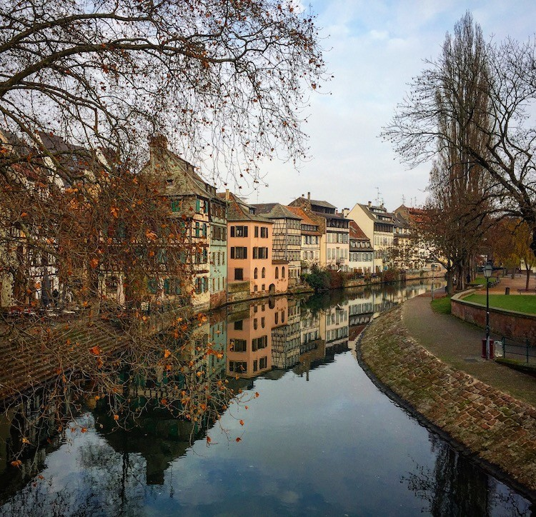 Wandering beautiful Strasbourg, France is part of the Christmas Market experience
