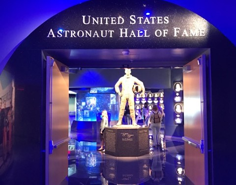 Is the Heroes and Legends Exhibit Featuring the Astronaut Hall of Fame at Kennedy Space Center Good for Kids?