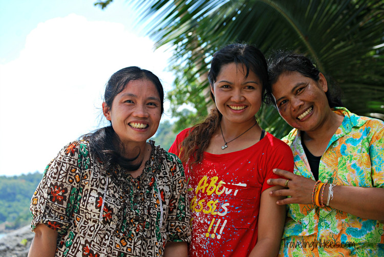Solo travel offers opportunities to meet others, such as these Chinese women in Ko Samui, Thailand.