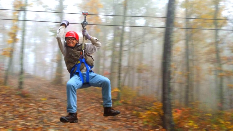 Legacy Mountain Zip Lining Pigeon Forge