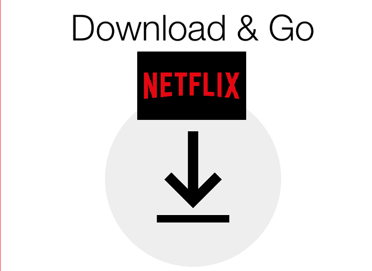 Watch for this symbol to know which Netflix content you can download for offline viewing.