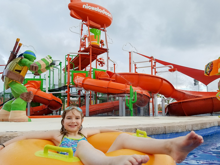 Lazy river fun at the Aqua Nick waterpark - photo credit: Kimberly Tate / ActiveTravelingMom