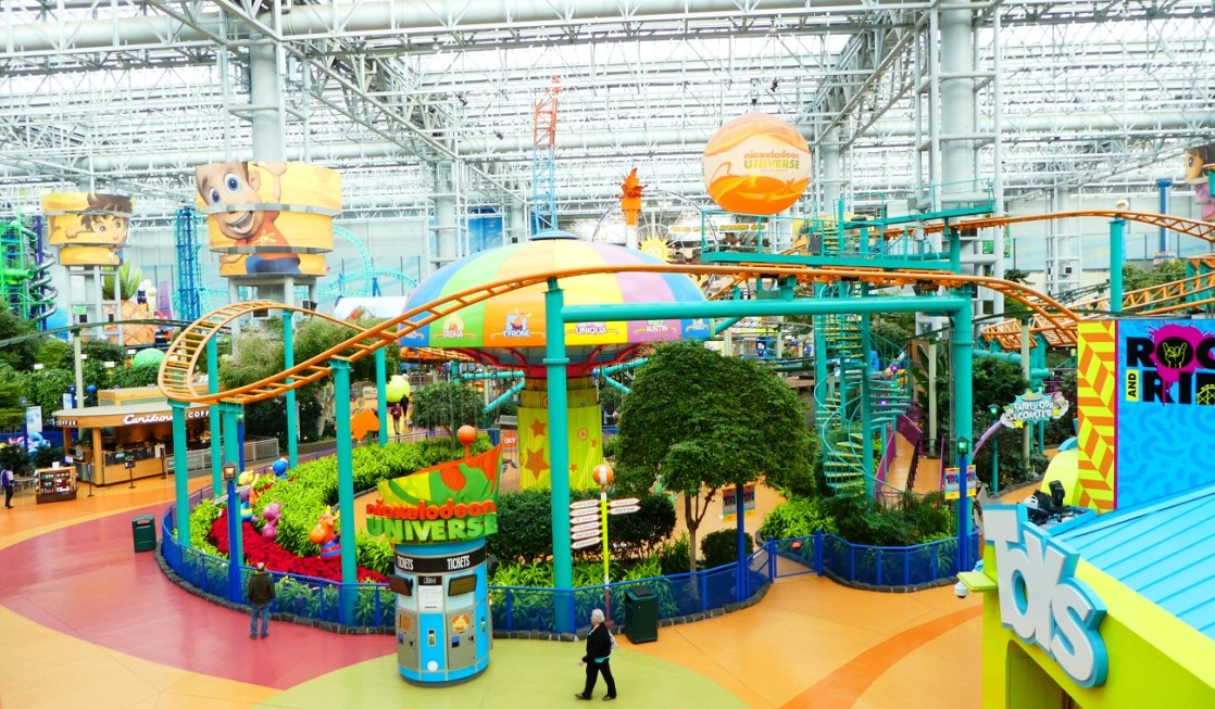 Photo by Jamie Bartosch/Suburban TravelingMom There are new rides at Nickelodeon Universe, along with other new attractions at Mall of America.