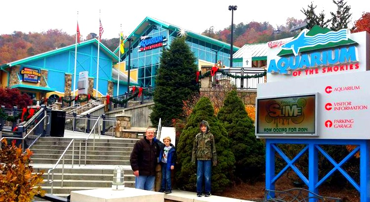 Ripley's Aquarium of the Smokies outdoors