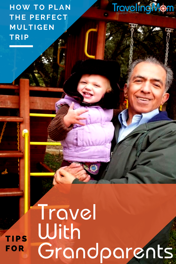 What to consider when planning trips with grandparents.