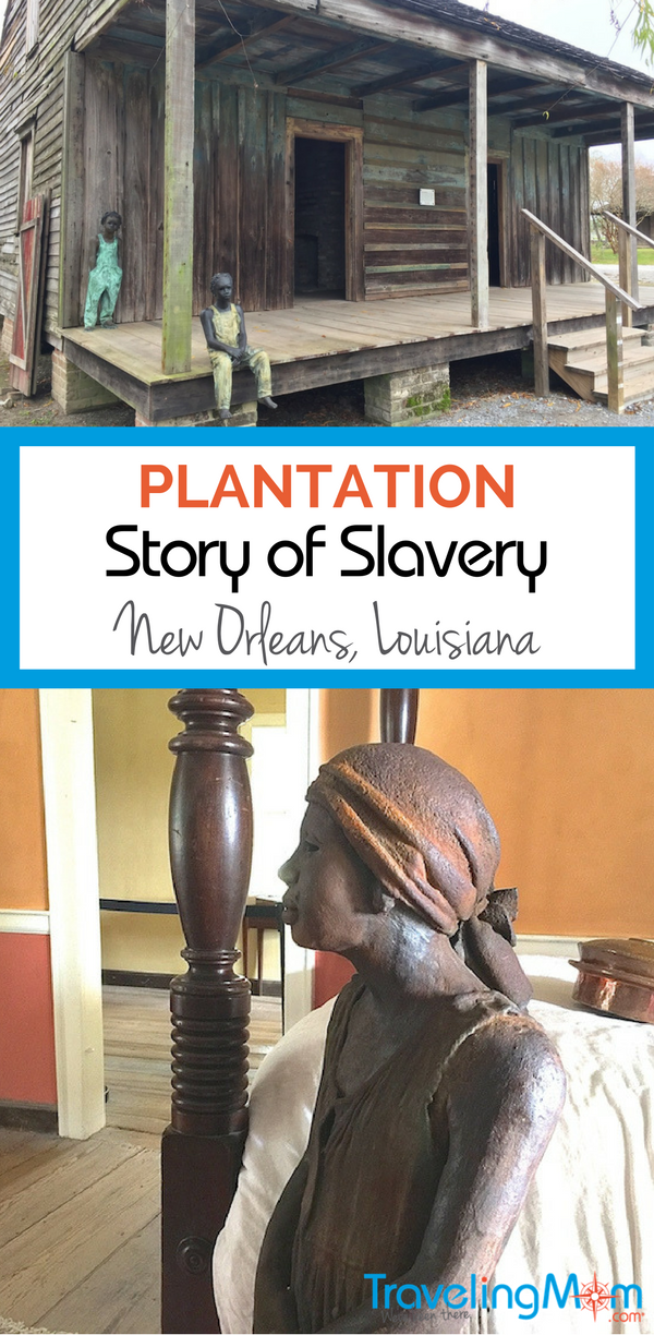 A plantation near New Orleans, Louisiana tells the story of slavery from an enslaved person's view