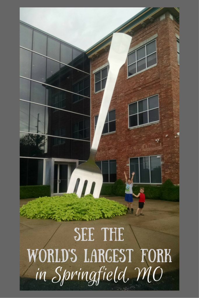 Love quirky, kooky roadside attractions? A visit to the World's Largest Fork in Springfield, MO needs to be on the top of your list!