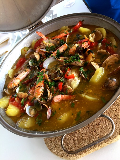 Portuguese Fish Stew is a delicacy not to be missed when you visit Portugal!