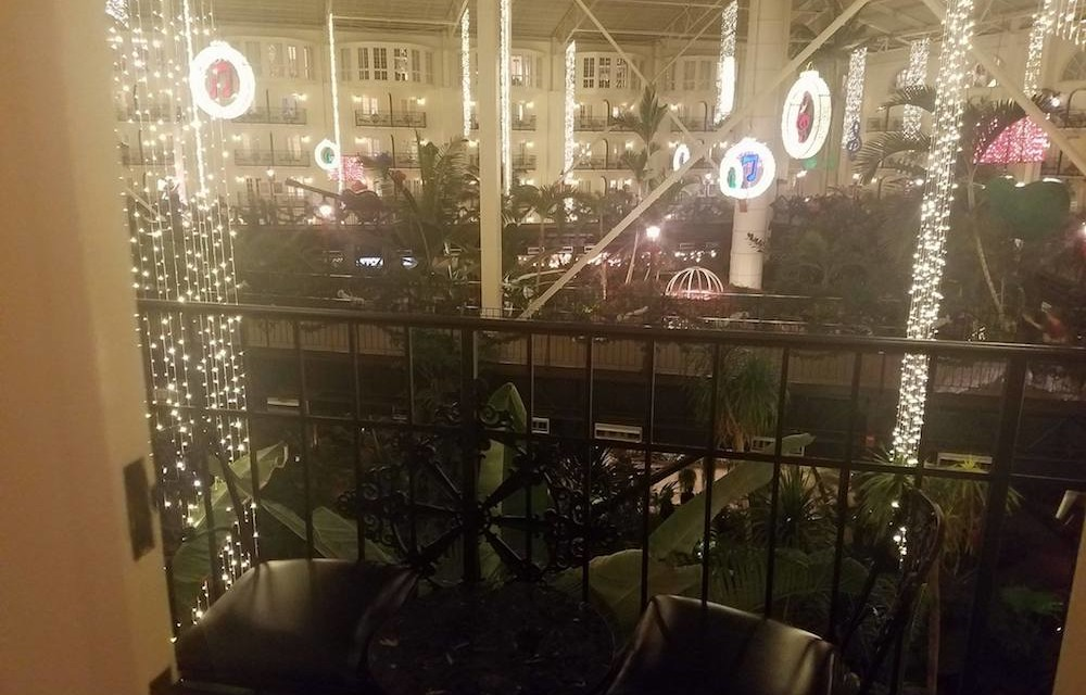 Christmas at the Gaylord Opryland in Nashville