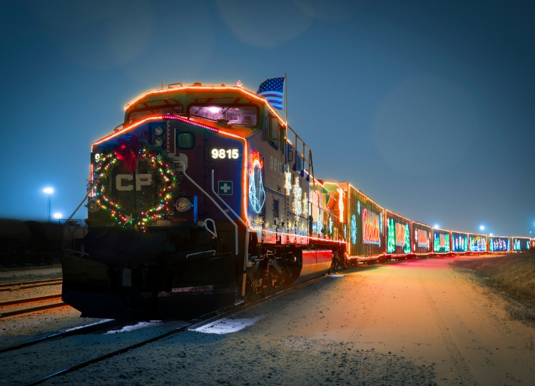 CP Holiday Train December Schedule