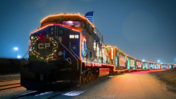 What is the CP Holiday Train?