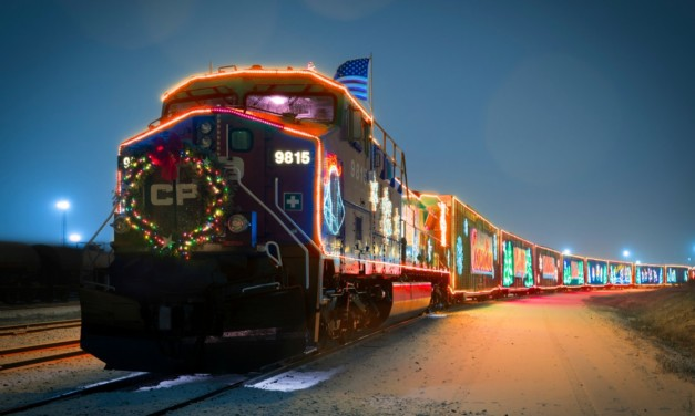 The CP Holiday Train's December Schedule