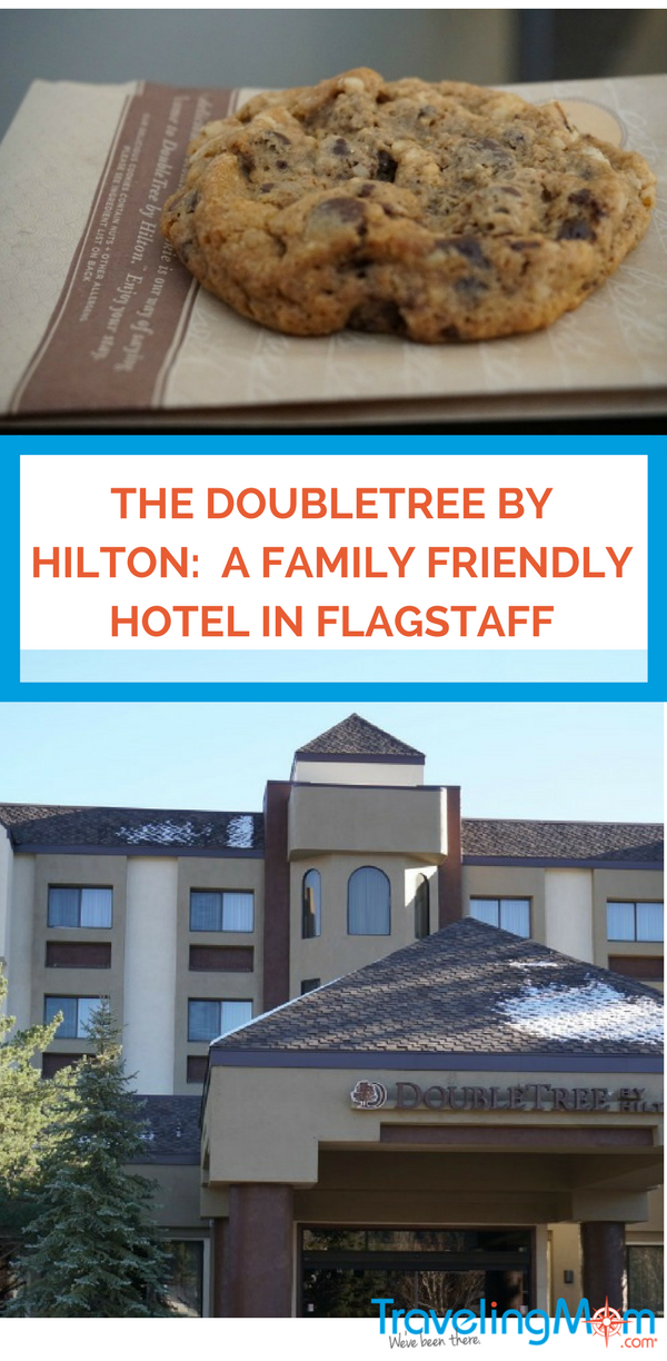 The DoubleTree by Hilton: A Family Friendly Hotel in Flagstaff. Photo by Multidimensional TravelingMom, Kristi Mehes.