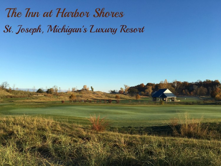 The Jack Nicklaus golf course lures guests to the Inn at Harbor Shores in St. Joseph, Michigan.