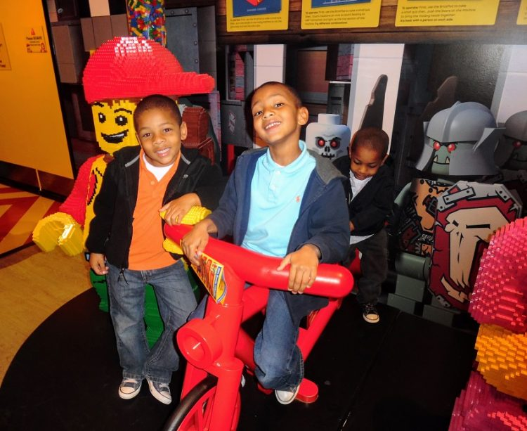 Legoland Discovery Center is celebrating with an Atlanta Noon Year's Eve balloon drop.