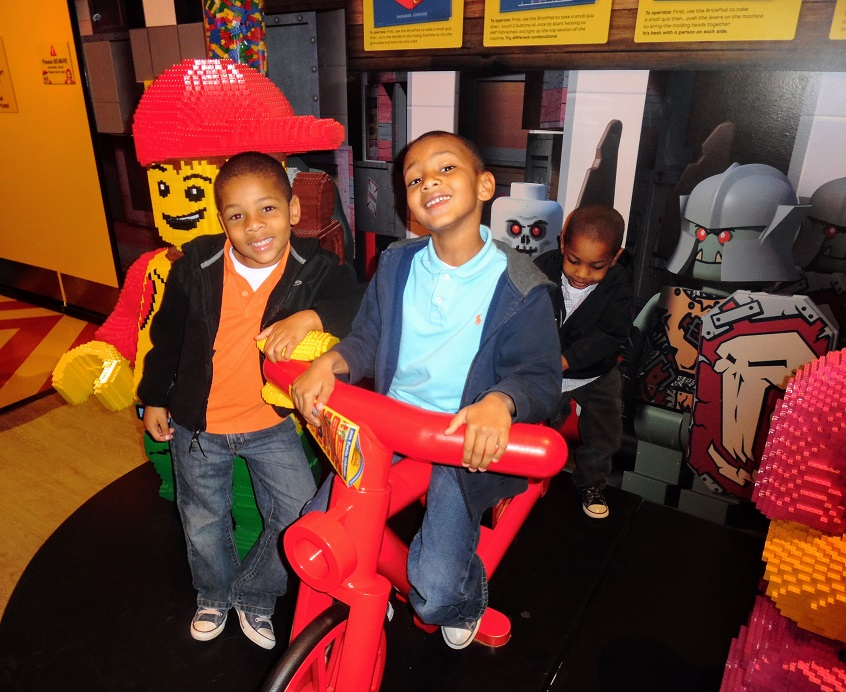 Legoland Discovery Center Atlanta is celebrating New Year's Eve with a Noon Year's Eve balloon drop.