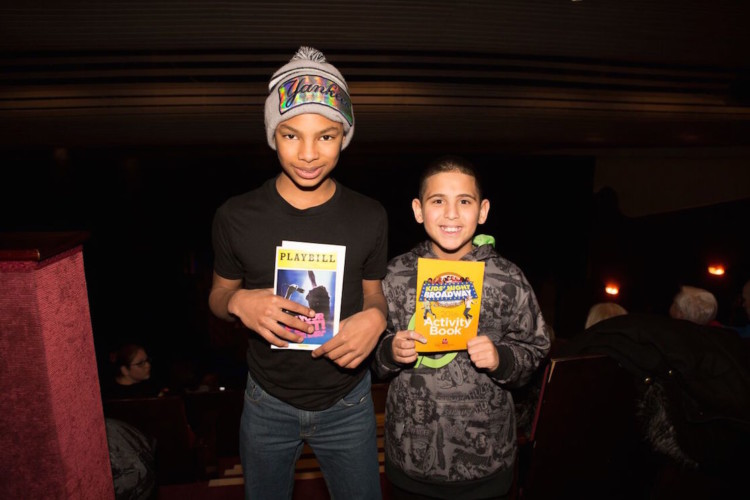 Take your children to a Broadway show for free on Kids' Night on Broadway
