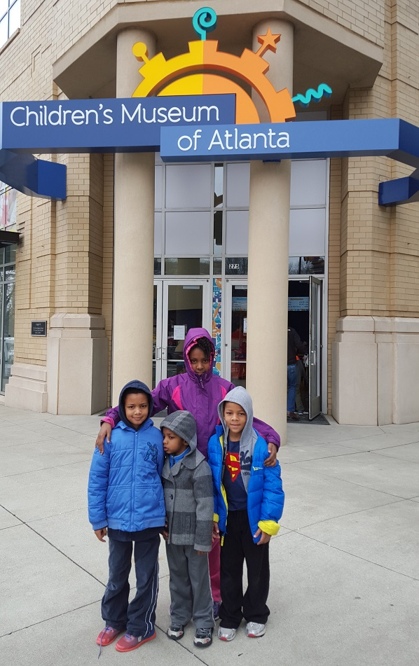 Visit the Atlanta Children's Museum for a Noon Year's Eve party.