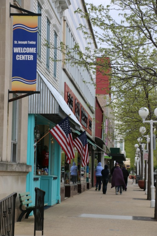 When visiting The Inn at Harbor Shores, take time to explore St. Joseph, Michigan's charming downtown.