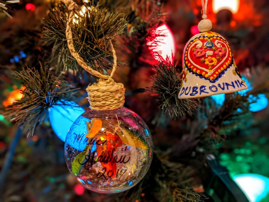 Unique Christmas ornaments -