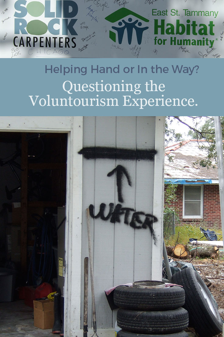 What's a voluntourism experience like? If you go, are you a help or do you just get in the way. One TravelingMom's experience in post-Katrina Louisiana might help you decide if this type of trip is right for you.