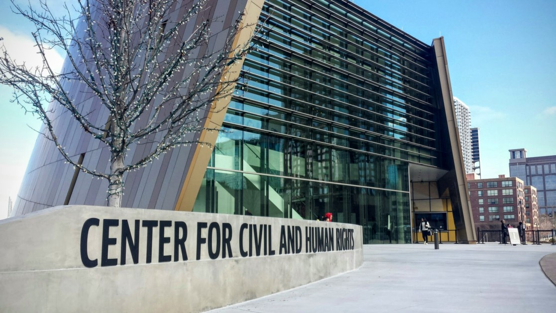 One of Atlanta's newest attractions is the Center for Civil and Human Rights and has a ton of black history month activities.