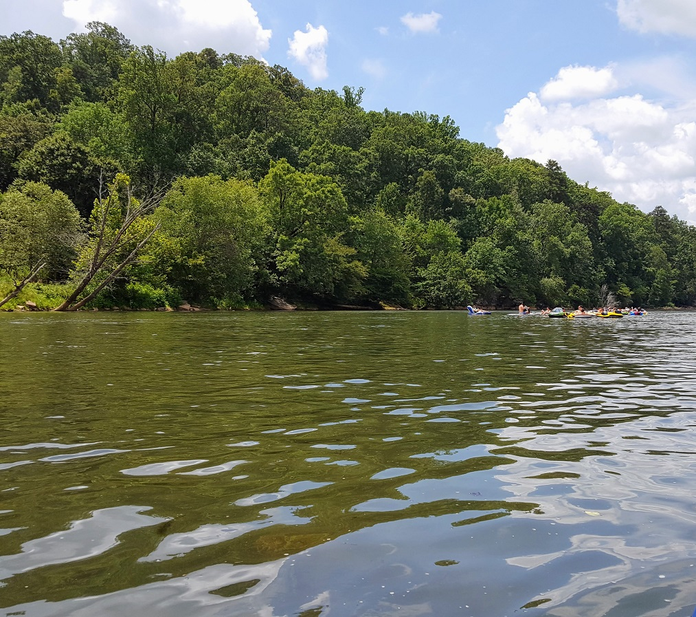The Chattahootchee River is one of the national waterways included in the free National Parks pass program.