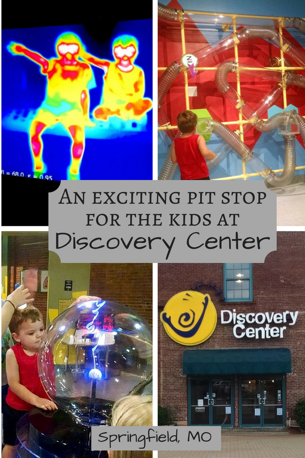 An exciting and refreshing pit stop for kids on a road trip: Discovery Center in Springfield, MO