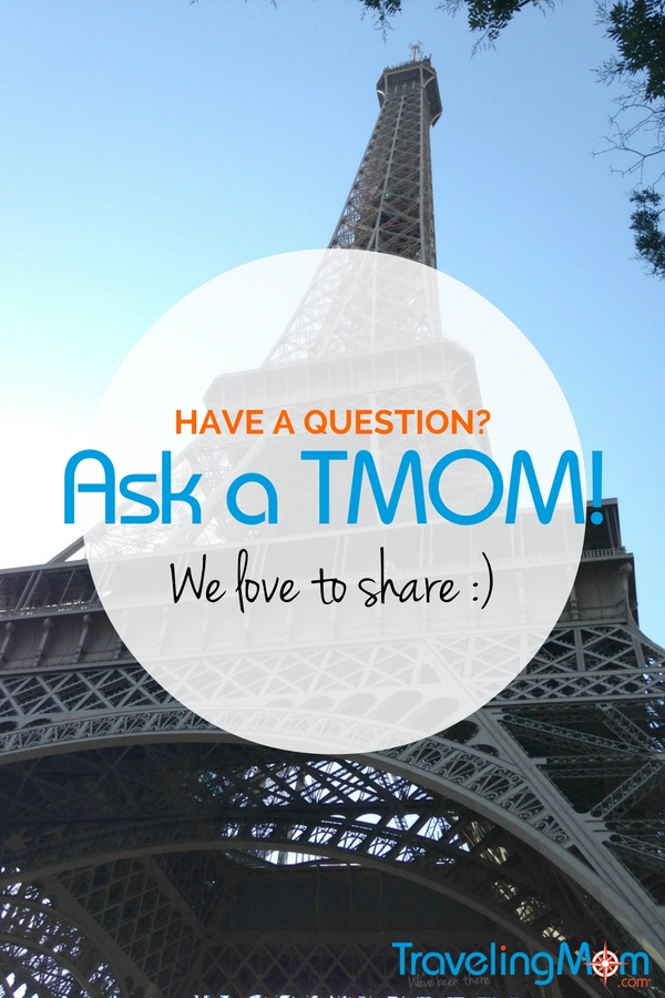 Have a travel question about this Parisian icon--or any other travel question? Ask a TravelingMom! Chances are one of our 70+ writers has been there, with a kid or three.