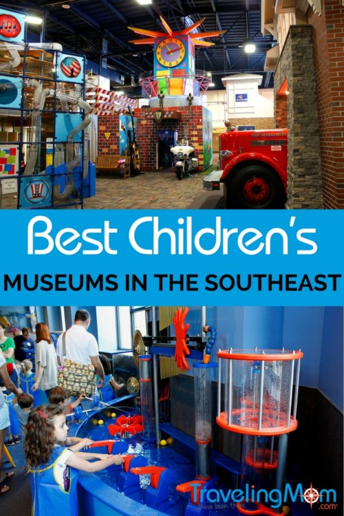 Best Children's Museums in the Southeast? We've been there! Check out our recommendations before you plan your next vacation!