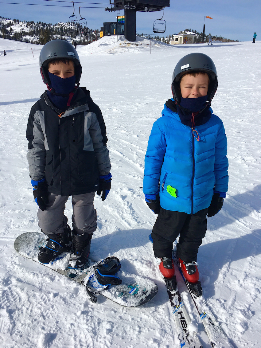 Squaw Valley Ski Resort offers the best resort of family-friendly winter activities
