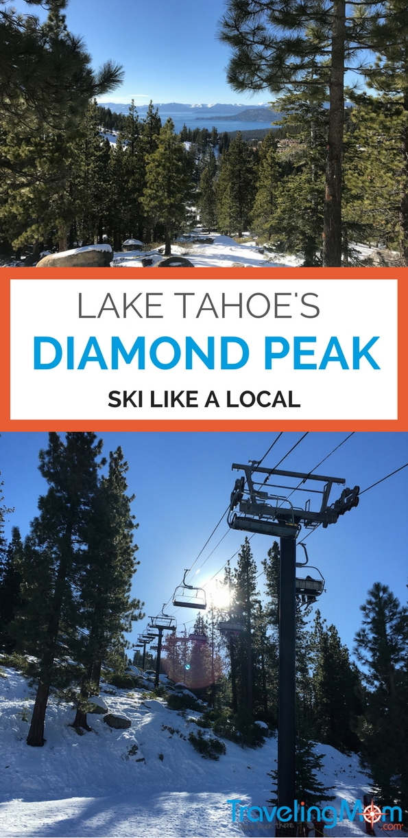 Diamond Peak Ski Resort offers families a convenient place to ski with family packages and free skiing for kids under 6.