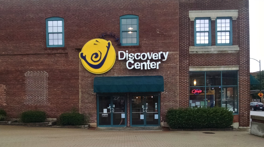 Discovery Center building in Springfield, MO