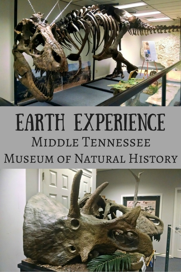 Earth experience natural history museum in Murfreesboro, TN
