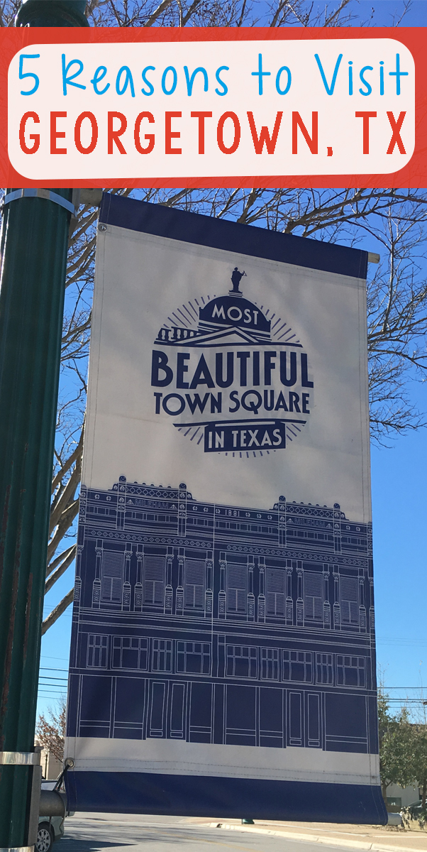 Georgetown, Texas is more than just a pit stop on the road between Dallas and Austin. Located 30 miles north of Austin on Interstate 35, it is the Most Beautiful Town Square in Texas and a destination in and of itself. | What to do in Georgetown Texas |