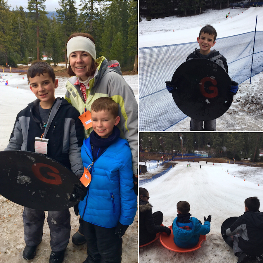 Granlibakken Tahoe in Tahoe City offers families sledding and a small ski hill.
