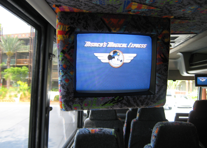 Get on the Disney World bus! Save money and skip long lines at car rental counters by using the Disney World Magical Express. Check out this great Disney World transportation option.