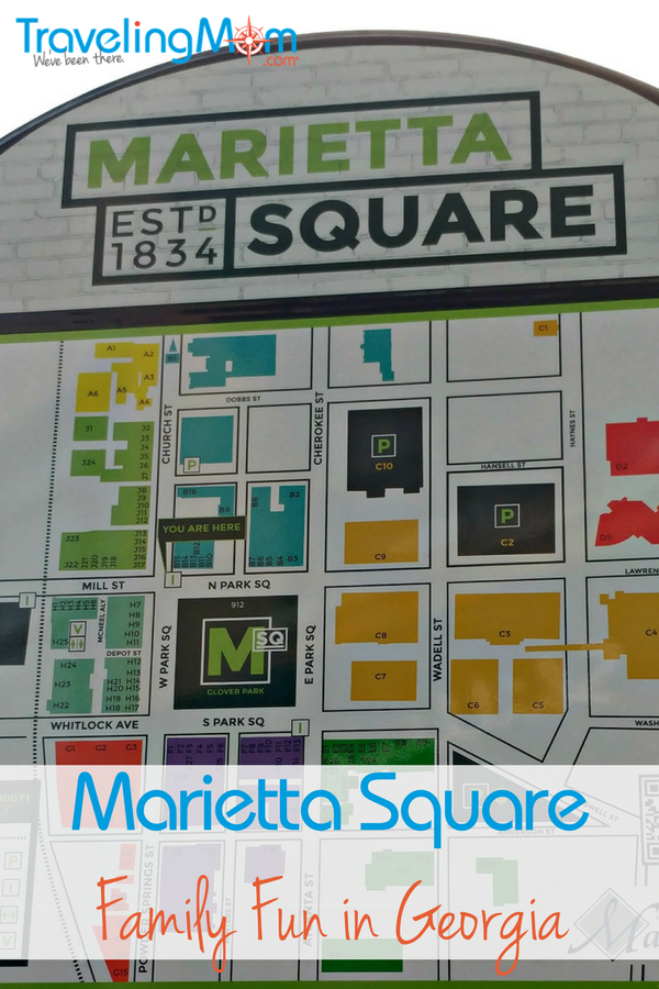 It's easy to find something catering to your interests in the Marietta Square in Marietta, GA!