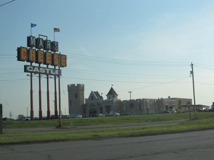 Mars Cheese Castle is a fun family road trip snacks stop on I-94 in Wisconsin