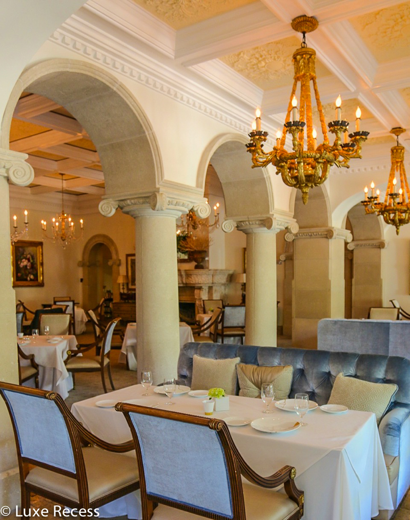 The Cloister's Georgian Room is a Forbes Five-star restaurant that's perfect for a romantic meal.