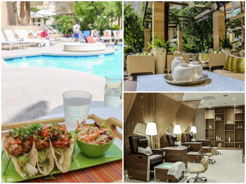 One of the most romantic hotels lets couples share a large, circular pool lounge and enjoy fish tacos, lounge in the outdoor areas, and get side by side mani-pedis at the Nail Bar.