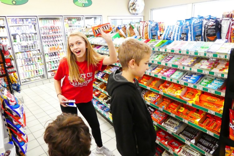 Stopping for snacks at gas stations and convenience stores is a fun part of our family road trips.