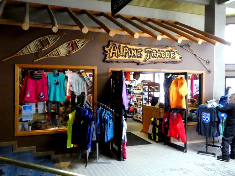 Powderhorn Ski Resort Alpine Trader gift shop has any gear you may need or have forgotten. This affordable Colorado ski resort is a great option for families or beginning skiers.