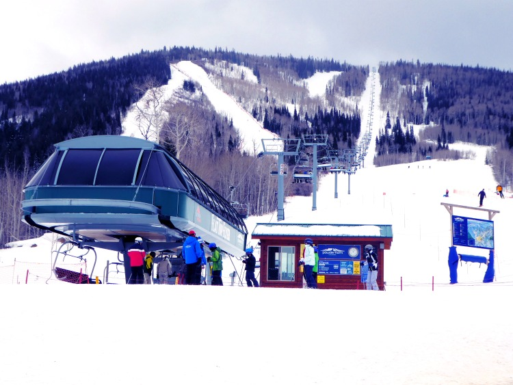 Powderhorn ski resort in Colorado is a great affordable option to families.